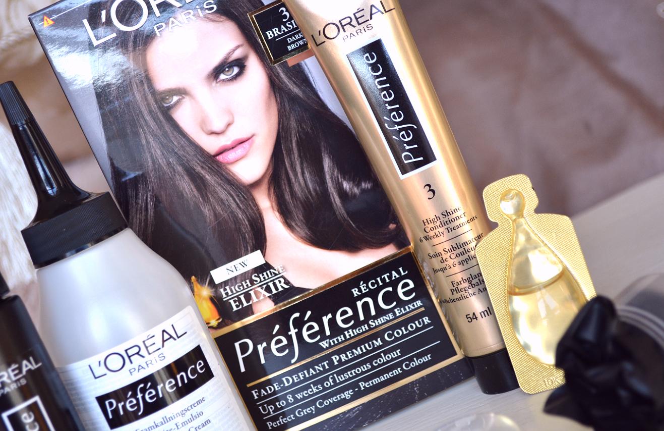 Wie habe ich meine Frisur geändert? Reflexe im Haar mit L'Oreal Casting Sunkiss Jelly und L'Oreal Recital Preference