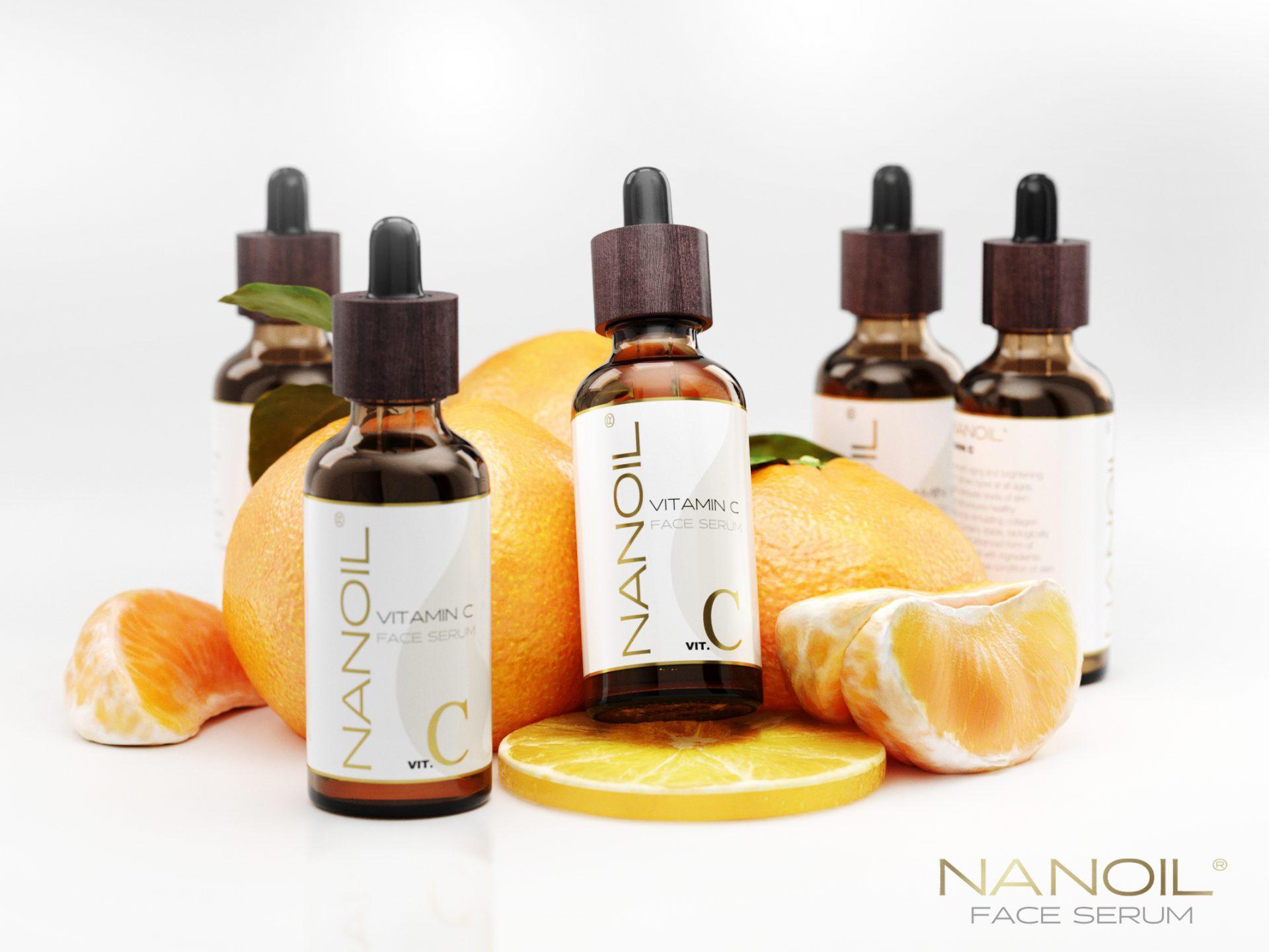 Gesichtsserum von Nanoil. Möge die Macht des Vitamins C mit euch sein!
